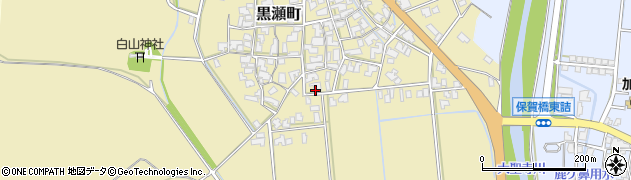 石川県加賀市黒瀬町(ハ)周辺の地図