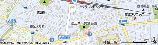 金子珠算研究会 結城駅南教室周辺の地図