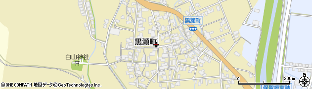 石川県加賀市黒瀬町(ホ)周辺の地図