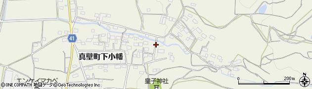 茨城県桜川市真壁町下小幡周辺の地図