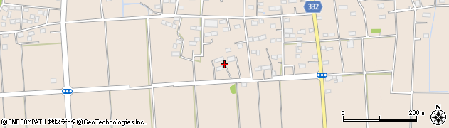 群馬県太田市新田反町町周辺の地図