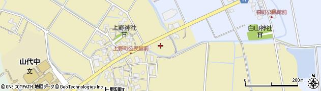 石川県加賀市上野町(ホ)周辺の地図
