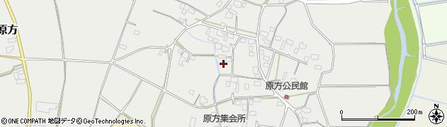 茨城県桜川市真壁町原方周辺の地図