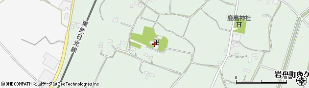滝水寺周辺の地図
