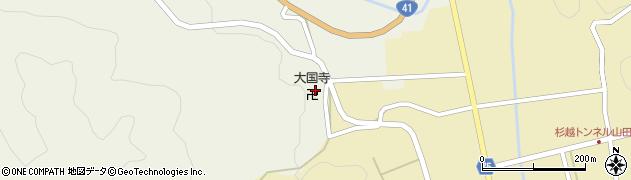 大国寺周辺の地図