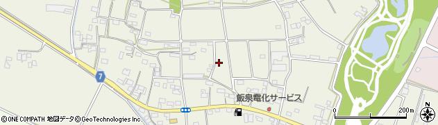茨城県筑西市茂田周辺の地図