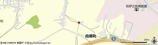 石川県加賀市南郷町(リ)周辺の地図
