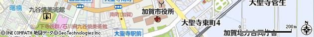 石川県加賀市周辺の地図
