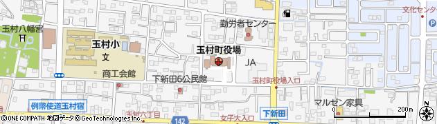 群馬県佐波郡玉村町周辺の地図