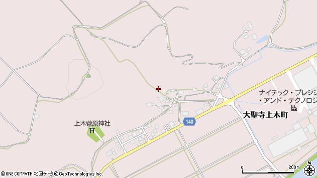 〒922-0001 石川県加賀市大聖寺上木町の地図