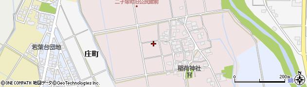 石川県加賀市二子塚町周辺の地図
