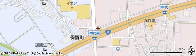 石川県加賀市保賀町(ク)周辺の地図