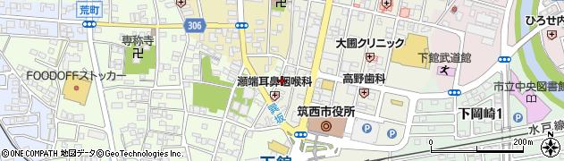 サフラン美容室周辺の地図