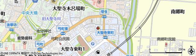 石川県加賀市大聖寺菅生(ニ)周辺の地図