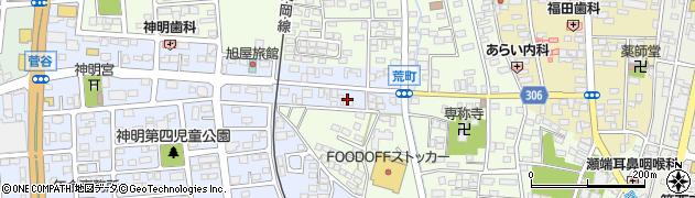 広葉園周辺の地図