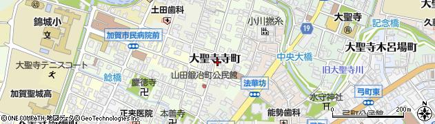 石川県加賀市大聖寺寺町周辺の地図