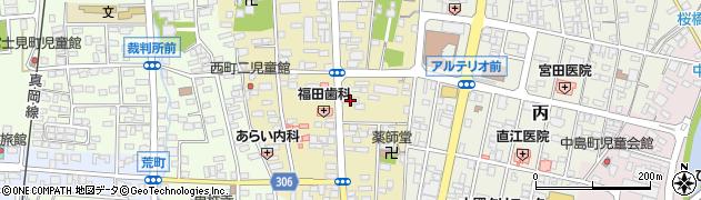 中村商事株式会社 中村美術サロン周辺の地図