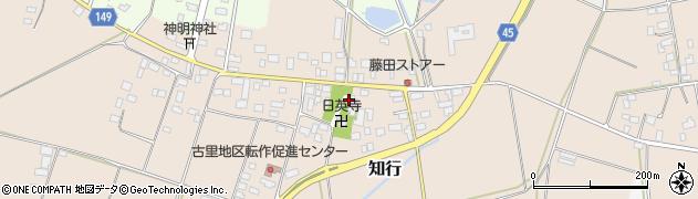 日英寺周辺の地図