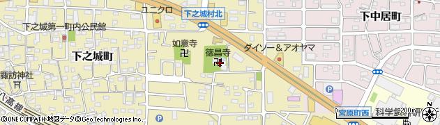 徳昌寺周辺の地図