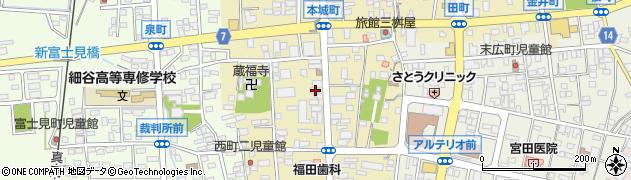 若松生花店周辺の地図