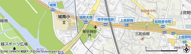 荘厳寺周辺の地図