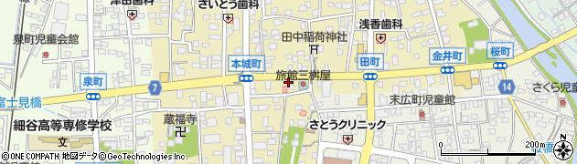 みどりや菓子店周辺の地図