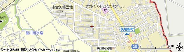 群馬県太田市矢場新町周辺の地図