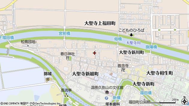 〒922-0004 石川県加賀市大聖寺朝日町の地図