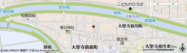 石川県加賀市大聖寺上福田町周辺の地図