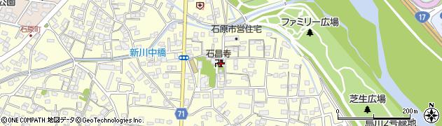 石昌寺周辺の地図