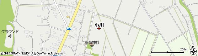 茨城県筑西市小川周辺の地図