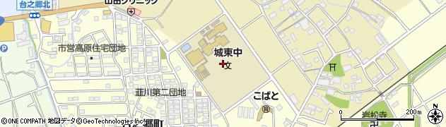 群馬県太田市韮川町周辺の地図