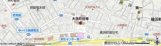 茨城県大洗町(東茨城郡)周辺の地図