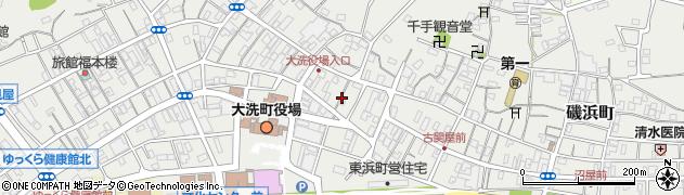 公文式大洗仲町教室周辺の地図