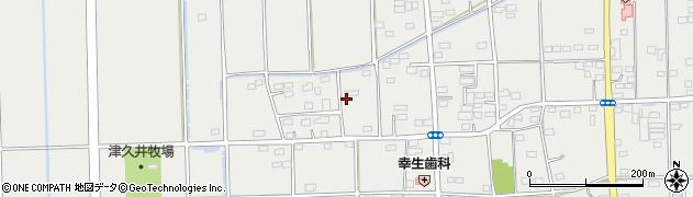 群馬県太田市新田市野井町周辺の地図