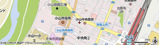 日本生命小山ビル周辺の地図