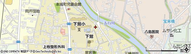 上野建築周辺の地図