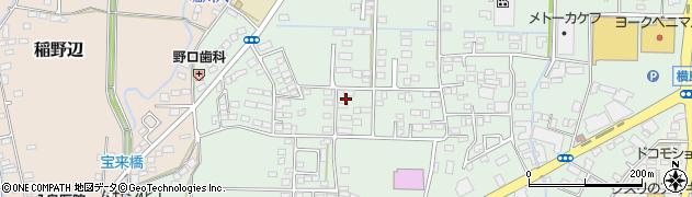 茨城県筑西市市野辺周辺の地図