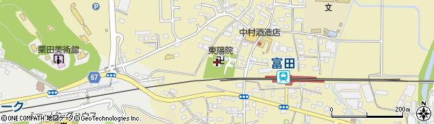 東陽院周辺の地図