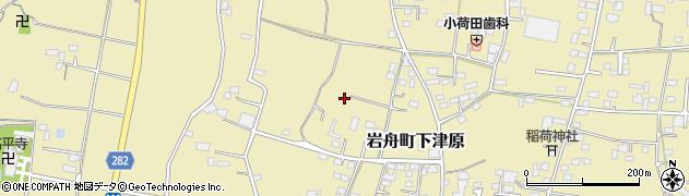 栃木県栃木市岩舟町下津原周辺の地図