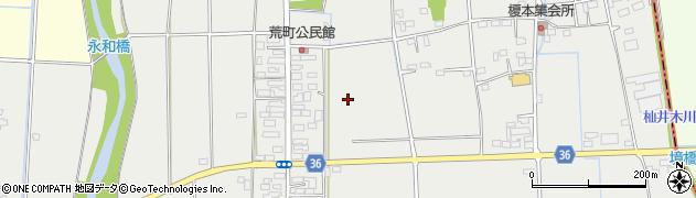 栃木県栃木市大平町榎本周辺の地図