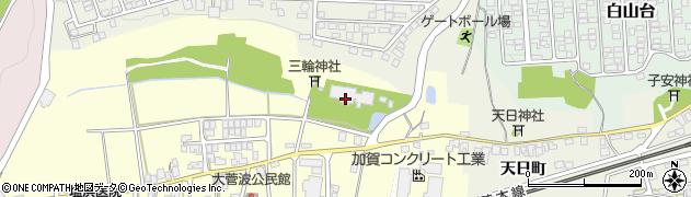 石川県加賀市大菅波町(フ)周辺の地図