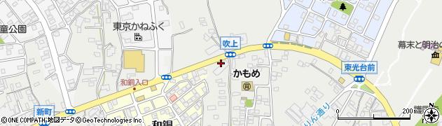 松屋工務店周辺の地図