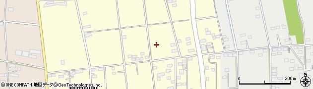 群馬県太田市新田市町周辺の地図