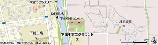 筑西市役所 心身障害者福祉センター周辺の地図