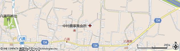 長野県小諸市八満周辺の地図