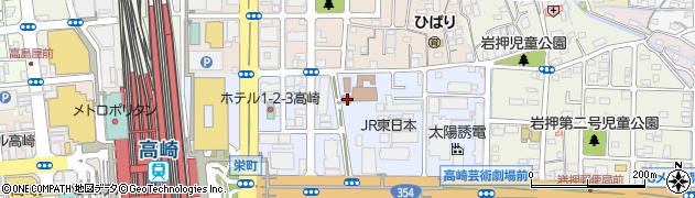 群馬県高崎市栄町6-42の地図 住所一覧検索|地図マピオン