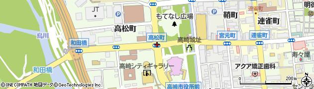 保健福祉事務所前周辺の地図