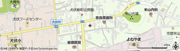 栃木県佐野市犬伏新町周辺の地図