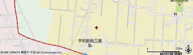 群馬県太田市新田上中町周辺の地図